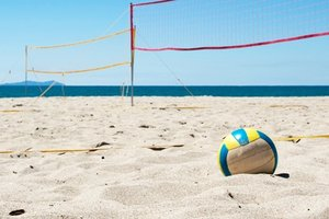 Beach-Sport: Beach-Volleyball